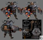 Ogre Character by SingYourLife