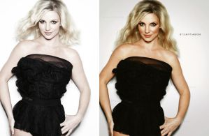 Britney Spears Retouch by Santiagoice