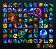 League of Legends - 2013 Icons by radioblur