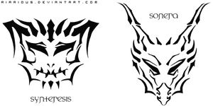 Sonera and Synteresis Emblems - New Versions by Riarious