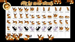 Effy the Eevee Shimeji +FREE+ by Cachomon
