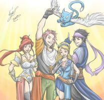We Are Fairy Tail by sarumanka