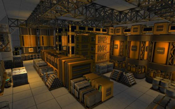 Space Engineers - Factory Complete by Shroomworks
