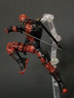 Deadpool in action by LuXuSik
