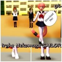 [MMD] Iroha Sailor [DL] by TheArtVdS