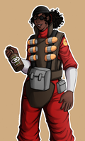 tf2: demowoman by Rellyz