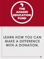 The Ahadzi Education Fund by 5MILLI
