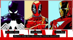 Marvel PopArt Series Wallpaper by iamherecozidraw