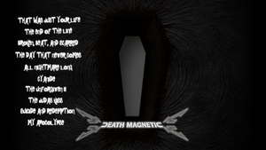 Death Magnetic Widescreen by applejackles