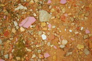 Mud and stones 002 by danf83stock