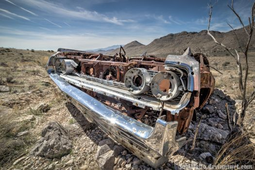 Abandoned '64 Oldsmobile Dynamic 88 by joelmello