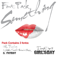 [Font Pack] - Girl's Day Something by AbouthRandyOrton
