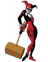 How To Draw DC Villains - Harley Quinn by TimLevins