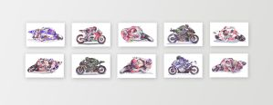 The Complete* Collection :: MotoGP Riders by onecuriouschip