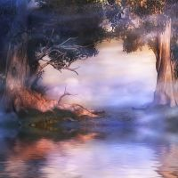 Fairy Pool by oldhippieart