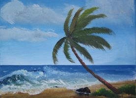 Palm Beach Landscape by TylersArtShack