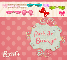 Bows en .gif by isfe by Isfe