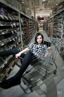 This is how we shop... by JilliD