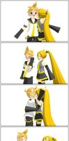 [MMD] Neru and Len Kiss by I-Am-Kayoy