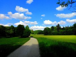 picture postcard sky by Mittelfranke
