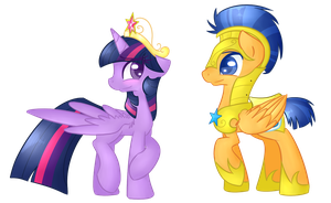 .:You're very pretty, Twilight:. by Felcia