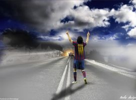 Lionel Messi by tenha