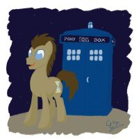 Doctor Whooves by Citron--Vert