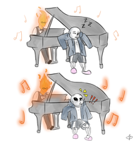No Naps by the piano by TheBlaziest
