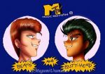 Beavis and Butthead...? by Megumi-Urimeshi