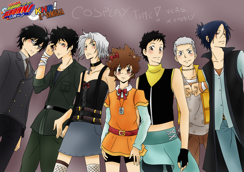 Cosplay Time! vers X family by Lushia
