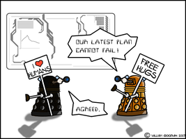 Dalek's Master Plan by willmeister42