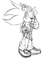 .:Zack The Hedgehog:. WIP by Sancosity