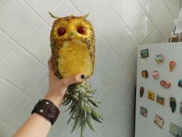 PineappOwl by NadienSka