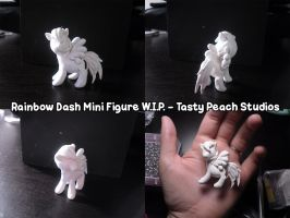 W.I.P. Mini Rainbow Dash by MoogleGurl