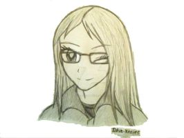 Anime Me Doodle by Iblue-Kitzune