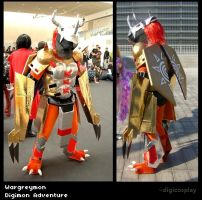 Wargreymon - DA by digicosplay