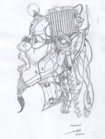 Mechanical Analogy WIP I by obefiend