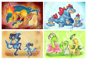 Pokemon Postal Letters by Kikulina