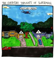 Superman vs The Suburbs by oh-the-humanatee