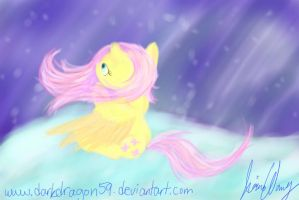Fluttershy's Sky by Violyre
