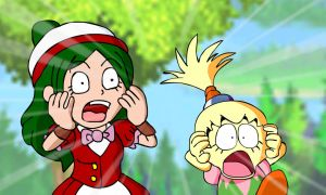 Anime Scene Request - Shocking Faces by KingAsylus91