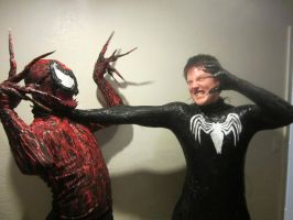 venom vs carnage real life by symbiote-x