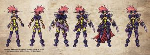 Space Pirates Armors x2 Design by Warhound-CMP