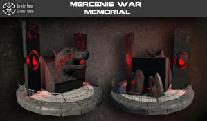 Mercenis War Memorial by tidalkraken
