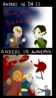 DA 2:Anders now and before by Albaharu
