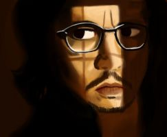 Secret Window - Johnny Depp by Obscuratio