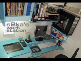 s2ka's workstation by s2ka