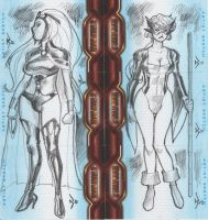 Ironman 2 Sketchcards.01 by RyanKinnaird