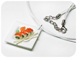 "Pendant ""Sushi"" by OrionaJewelry"