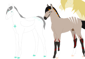 New to the family -horses- by KaidaSkytower
